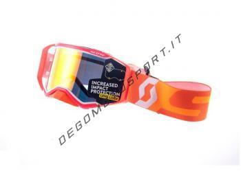 Maschera motocross Scott Prospect Orange White
