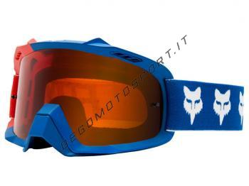 Occhiali Motocross Fox 2018 Air Space Draftr Blu