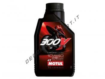 Olio motore Motul 300 V 4T 10 w 40