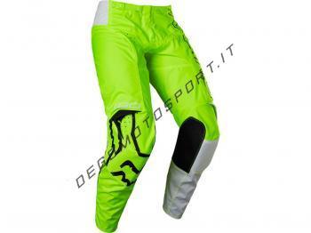 Pantaloni Motocross Fox 2022 180 Skew - Fluorescent Yellow