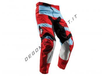Pantaloni Motocross Thor 2018 Pulse Powder Blue Red