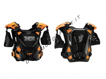 Pettorina Motocross Thor Guardian Black orange