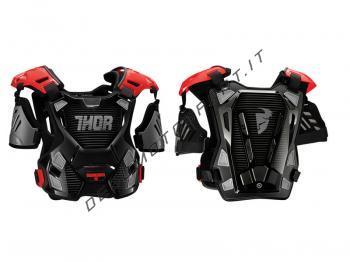 Pettorina Motocross Thor Guardian Black Red