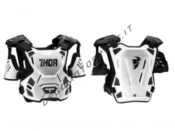 Pettorina Motocross Thor Guardian White Black
