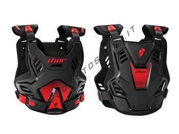 Pettorina Motocross Thor Sentinel GP Black Red