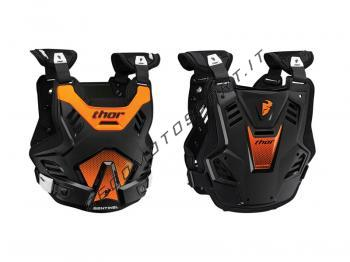Pettorina Motocross Thor Sentinel GP Orange Black Fluo