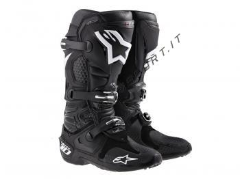 Stivali Motocross Alpinestars Tech 10 Black