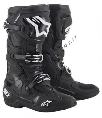 Stivali Motocross Alpinestars Tech 10 Black