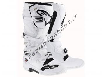 Stivali Motocross Alpinestars Tech 7 White