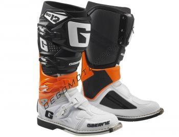 Stivali Motocross Gaerne SG 12 Orange Black White
