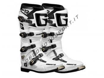 Stivali Motocross Gaerne SG 12 White