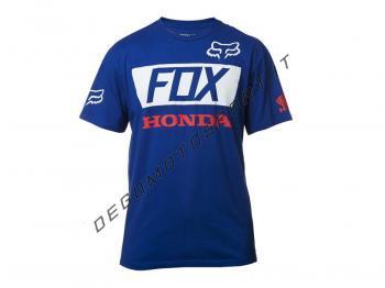 T-shirt Fox Honda 2017 Basic Standard Tee Blue